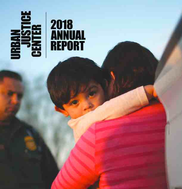 Image of the cover of the 2018 Annual Report.