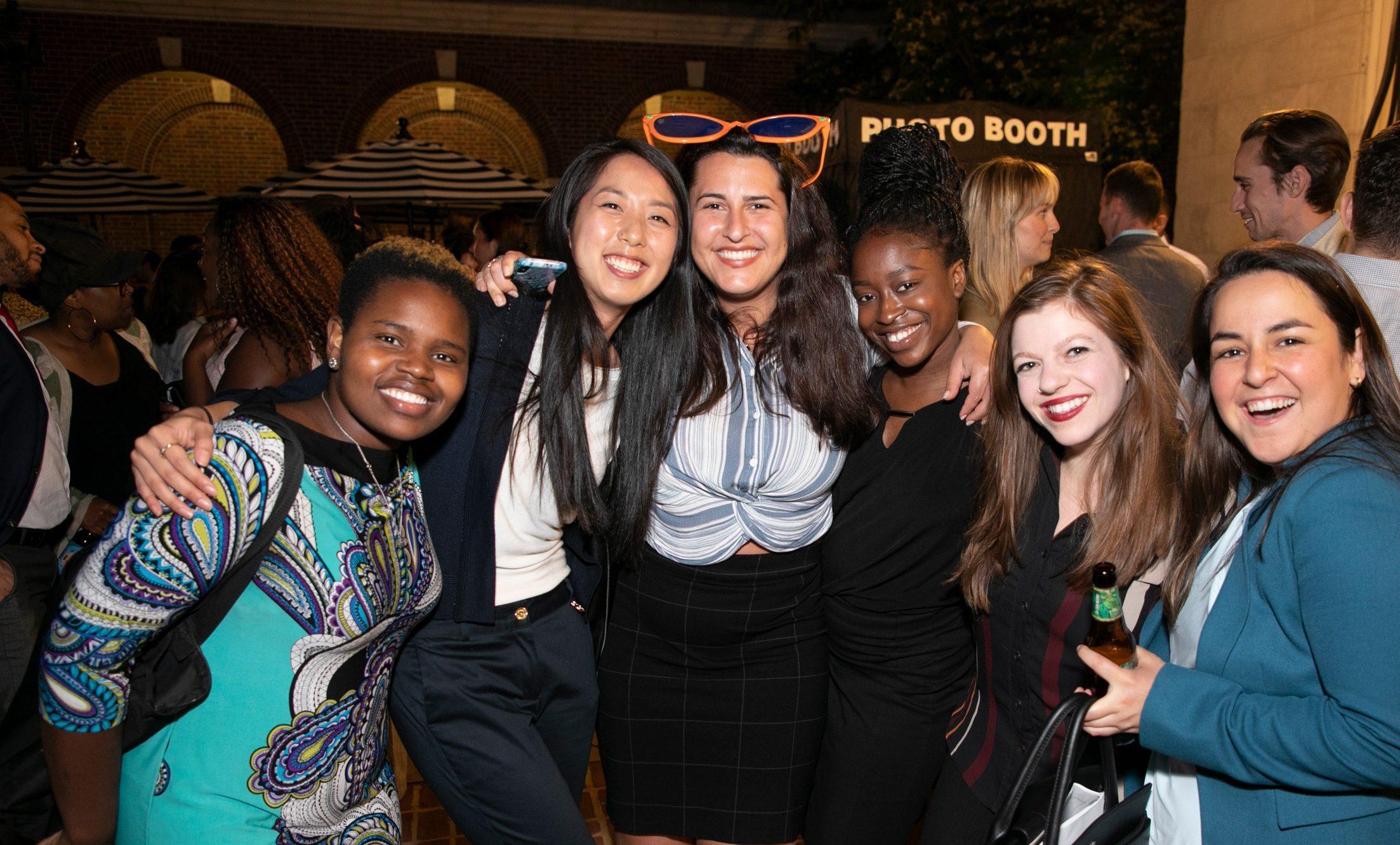 Image of UJC's Young Professional Board members having fun!