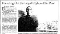 Image of a NY Times article about Doug Lasdon